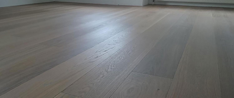 houten vloer schuren en oliën
